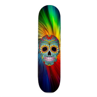 Skull board 20.6 cm skateboard deck