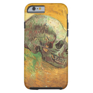 Skull by Vincent van Gogh, Vintage Impressionism Tough iPhone 6 Case