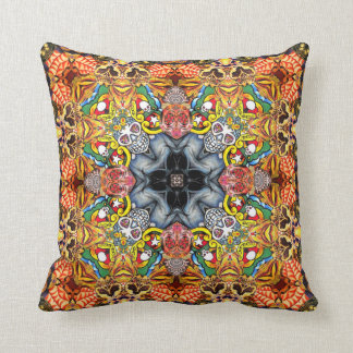 Skull Collage Cushion