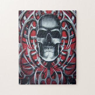 skull design jigsaw puzzle