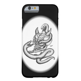 Skull - Devil Head with Snake Barely There iPhone 6 Case