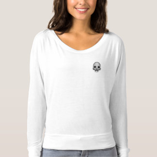 Skull Emoji Long-Sleeve T-Shirt - IndianCurrent