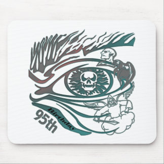 Skull Eye 95th Birthday Gifts Mouse Pad
