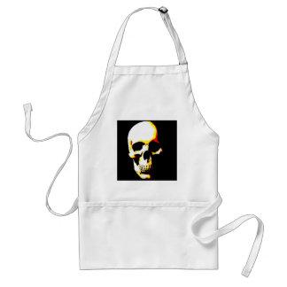 Skull: Fantasy Art Rock Punk Standard Apron