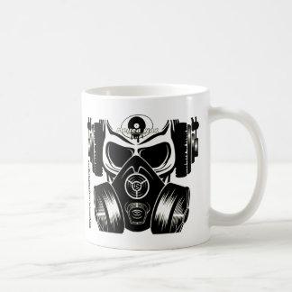 Skull & Gasmask Mug