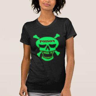 Skull head poison skull poison tshirts