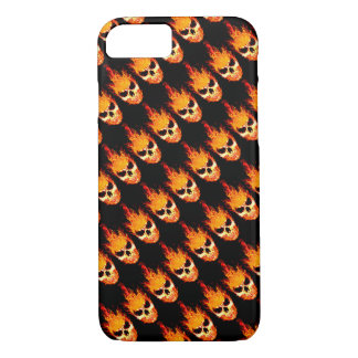 Skull In Flames iPhone 8/7 Case