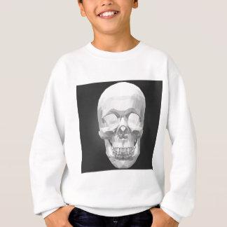 Skull in Low Poly Sweatshirt