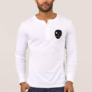 Skull - Men's Canvas Henley Long Sleeve Shirt