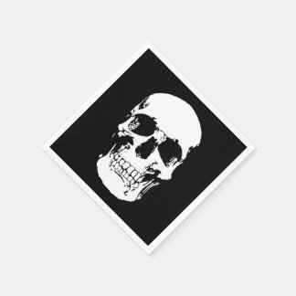Skull Napkins Disposable Napkins