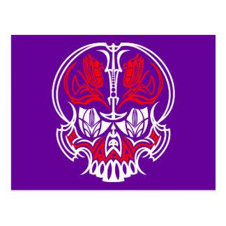 Skull Pinstriping Postcard