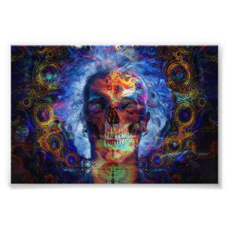Skull psychodelicart photograph
