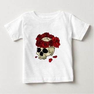Skull roses baby T-Shirt