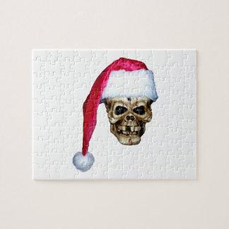 Skull Santa Jigsaw Puzzle