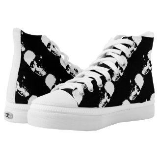 Skull Shoes Printed Shoes