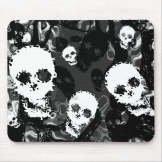 Skull Spectres B&W mousepad