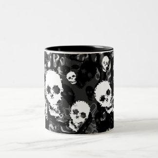 Skull Spectres B&W mug