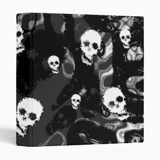Skull Spectres B&W (small skull) binder
