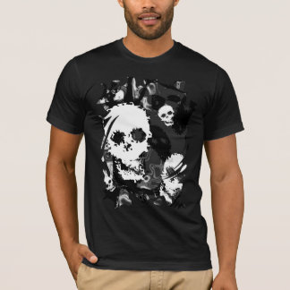 Skull Spectres B&W t-shirt