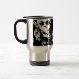 Skull Spectres B&W travel/commuter mug
