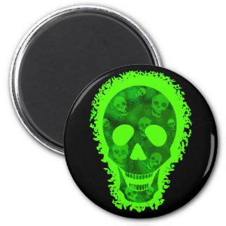 Skull Spectres Big Skull fridge magnet