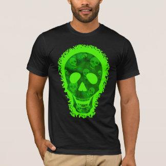 Skull Spectres Big Skull Green  t-shirt