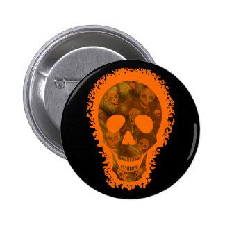 Skull Spectres Big Skull Orange button