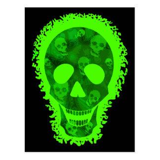 Skull Spectres Big Skull postcard