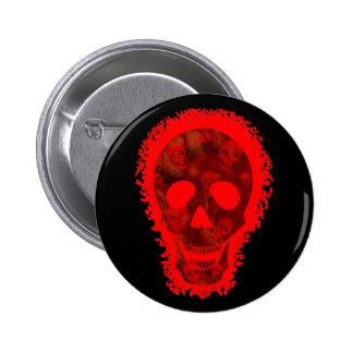 Skull Spectres Big Skull Red button