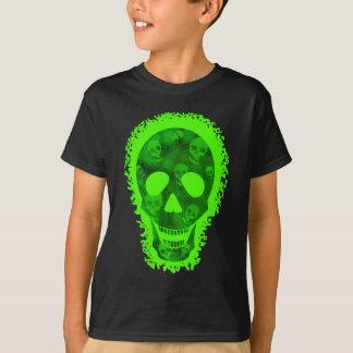 Skull Spectres big skull 'Trick or Treat? t-shirt