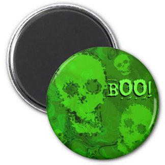 Skull Spectres 'Boo!' fridge magnet