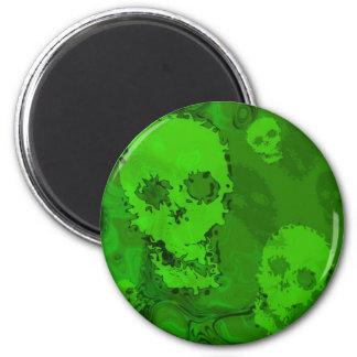 Skull Spectres fridge magnet