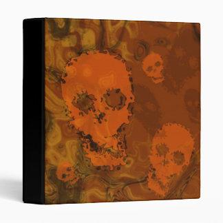 Skull Spectres Orange binder