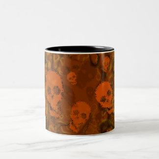 Skull Spectres Orange mug