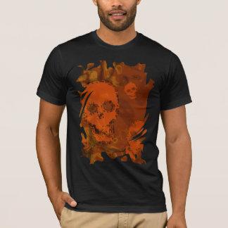 Skull Spectres Orange swirl t-shirt