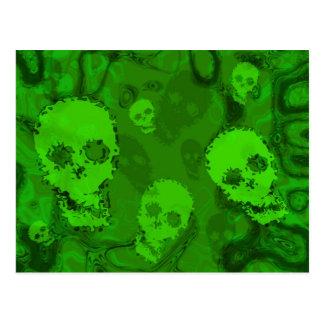 Skull Spectres postcard