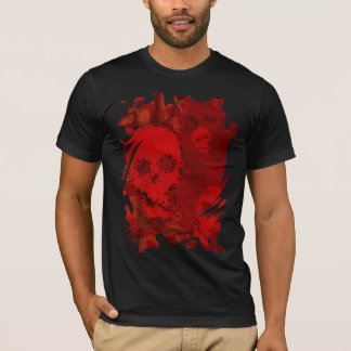 Skull Spectres Red swirl t-shirt