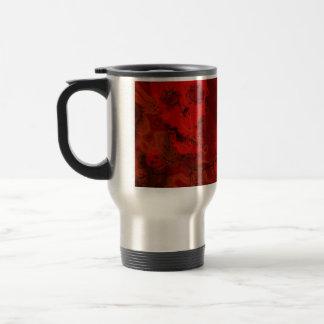 Skull Spectres Red travel/commuter mug