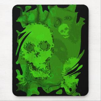 Skull Spectres swirl mousepad