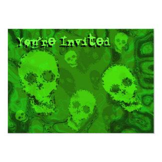 Skull Spectres 'You're Invited' invitation