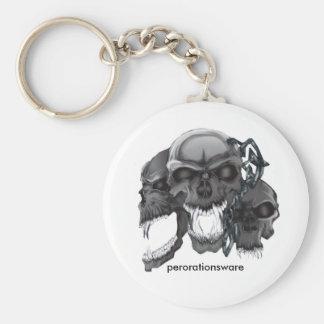 skulls key ring