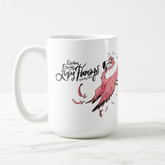 Skunk and Flamingo Coffee Mug