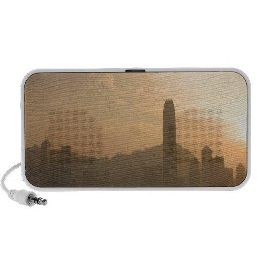 Sky Big City Sunset Travel Speaker