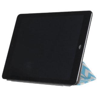 Sky Blue Chevron 3 iPad Air Cover