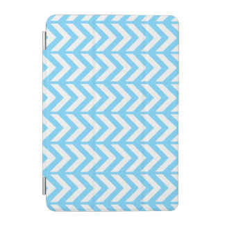 Sky Blue Chevron 3 iPad Mini Cover