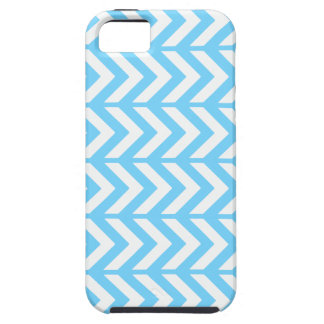 Sky Blue Chevron 3 iPhone 5 Covers