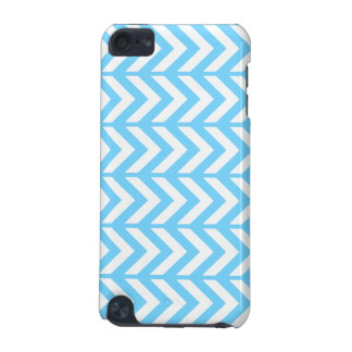 Sky Blue Chevron 3 iPod Touch (5th Generation) Cover