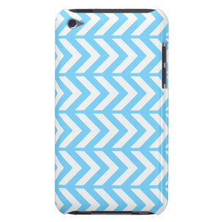 Sky Blue Chevron 3 iPod Touch Case