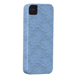 Sky Blue Lace iPhone 4 Cover