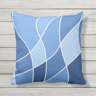 Sky blues – trendy stylish design outdoor cushion